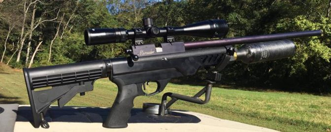 Custom 30 CAL Marauder By Wicked Air Rifles