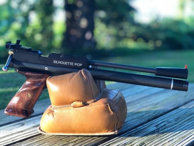 The MCA S1721 .22cal pcp pistol